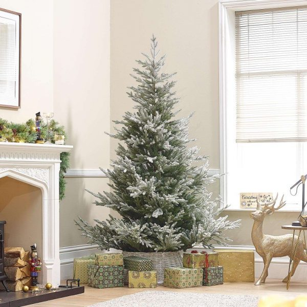 6ft Snowy Englemanns Spruce Artificial Christmas Tree