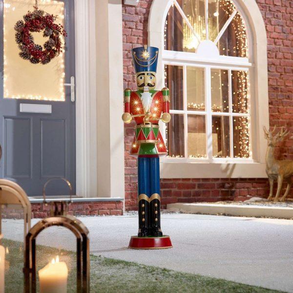 Norbert Drummer Christmas Nutcracker Figure - Red