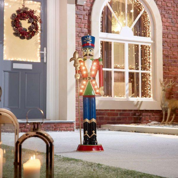 Norbert Guard Christmas Nutcracker Figure - Red