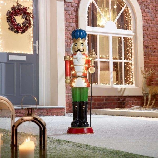 Noel Guard Christmas Nutcracker Figure - Red