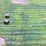 Grass Reinforcement Mesh Used To Support A Mobility Scooter - Featured Image
