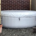 Inflatable Hot Tub Base Under Lay-Z-Spa - Featured Image